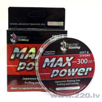 Makšķeraukla AKARA MAX Power 040mm 300